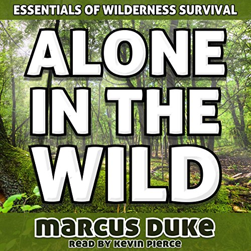 Alone in the Wild audiobook cover art