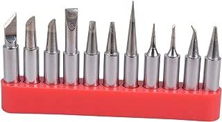 TECKE 11X T18 Soldering Iron Tips Replacement HAKKO Tip for HAKKO FX-888D FX-888 FX-600