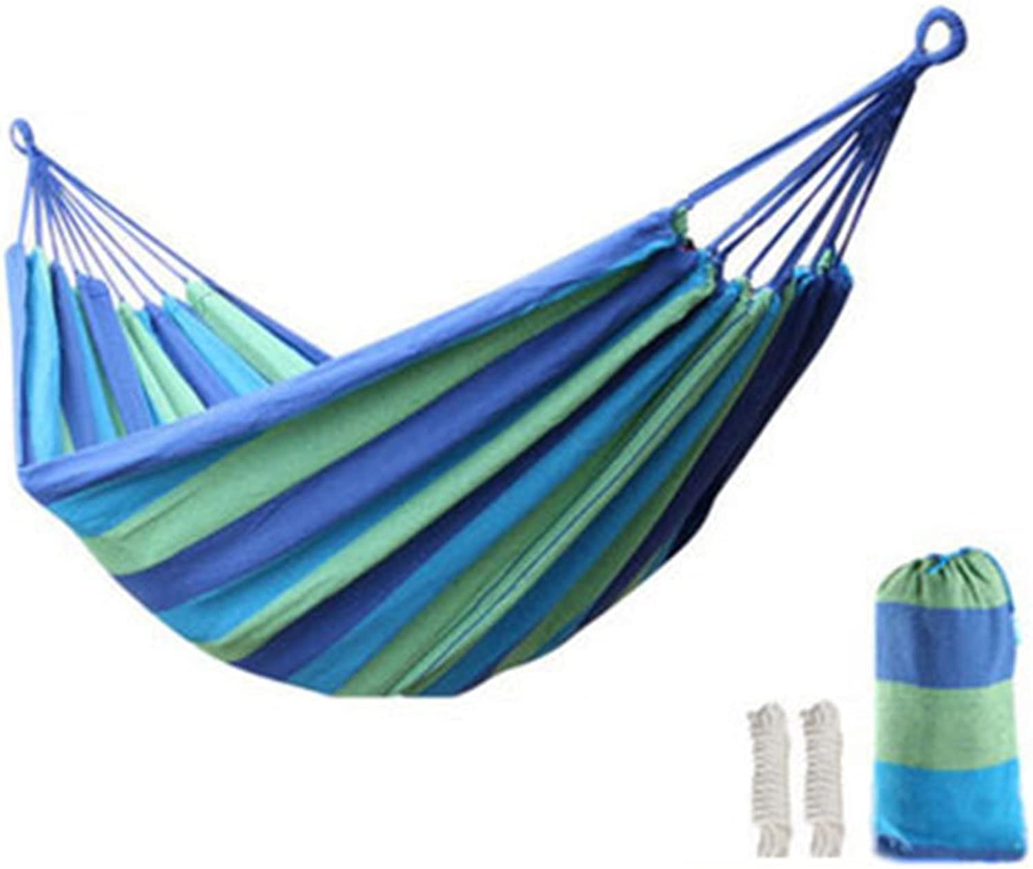 Outdoor indoor single double canvas camping student dormitory dormitory hammock thick swing chair