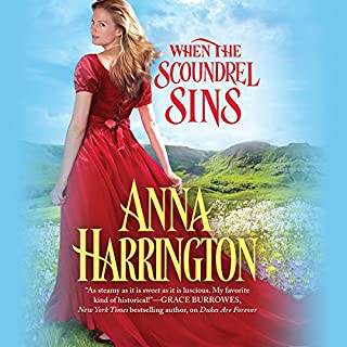 When the Scoundrel Sins audiobook cover art