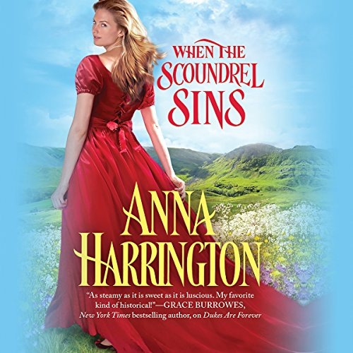 When the Scoundrel Sins                   By:                                                                                                                                 Anna Harrington                               Narrated by:                                                                                                                                 Justine Eyre                      Length: 9 hrs and 22 mins     33 ratings     Overall 4.2