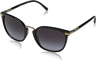 Burberry Women's 0BE4262 30018G 53 Sunglasses, Black/Gradient