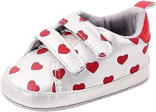 DAY8 Chaussures Bebe Fille Hiver Pas Cher Mode Chaussure Premier Pas Bébé Fille Souple Basket Bebe Fille Montante Scratch ...