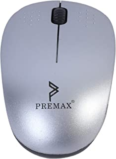 Wireless Optical Mouse - PM-WM8 (Silver)