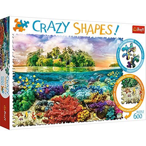 TREFL 600 el. Crazy Shapes - Tropikalna wyspa [Puzzle]