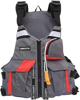 Sklepee Simväst för vuxna, multifunktionella flythjälpmedel badjackor - bärbar uppblåsbar flytväst för vattensporter kajak...