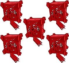 NOLITOY Ano Chinês Lanternas Vermelhas 10Pcs Pendurado Sentiu Ornamento Do Festival da Primavera Chinês Lanternas Fu Decor...