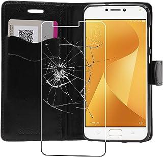 ebestStar - Cover Compatibile con ASUS Zenfone Max Plus M1 ZB570TL Custodia Portafoglio Pelle PU Protezione Libro Flip, Ne...