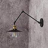 LLLKKK Lámpara de pared de hierro fundido a presión, 180...
