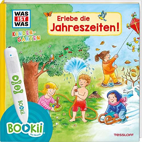 BOOKii® WAS IST WAS Kindergarten Erlebe die Jahreszeiten!: Frühling, Sommer, Herbst und Winter - erstes Wissen ab 3 (BOOKii / Antippen, Spielen, Lernen)