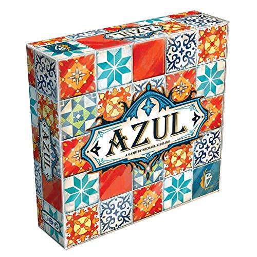 Lustiges Spiel Azul Tile Story Strategie Brettspiele Farbe Keramikfliesen Kartenspiel, Adult Party Card Game Familientreffen Gadget Beste Spieleabend Für Kinder Optional Deutsch oder Englisch,Deutsch