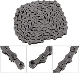 Alomejor Speed Bike Chain Stainless Steel Bicycle Missing Link Universal 9/27 Speed Bicycles Chain for Mountain Bike Road Bike