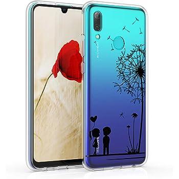 Cover Huawei P Smart 2019 Silicone Nero Ultra Sottile Morbido TPU ...