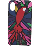 Kate Spade New York - Papercut Parrot Phone Case For iPhone XS