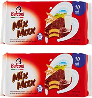 Balconi MIX MAX Snack Cakes 10 Pieces, 2 Pack