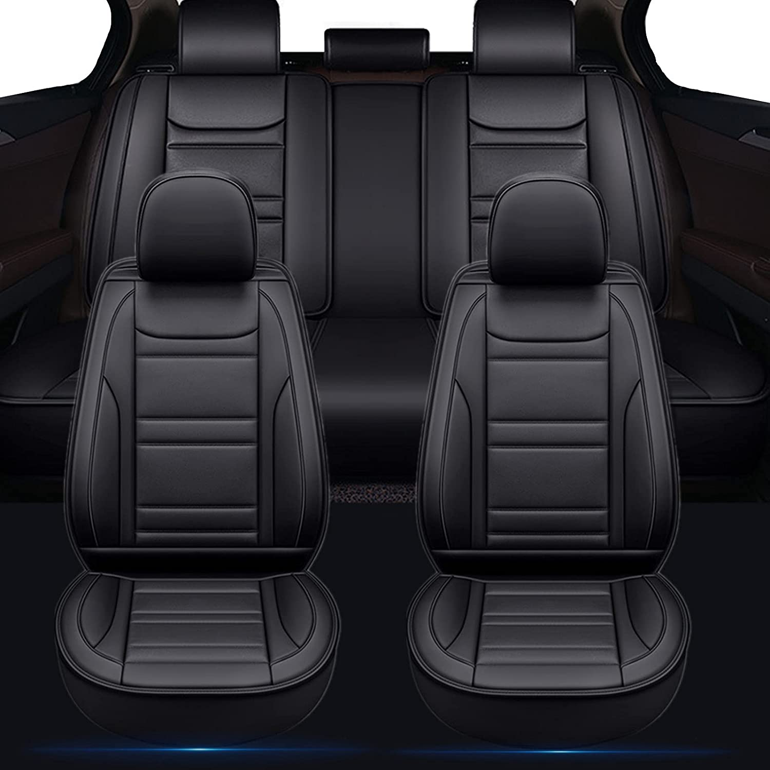 MOFANS Many popular brands Full Set Max 60% OFF Car Seat Cover Covers Leather Airba Premium
