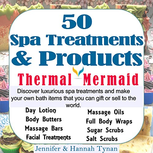 50 Spa Treatments and Products audiobook cover art