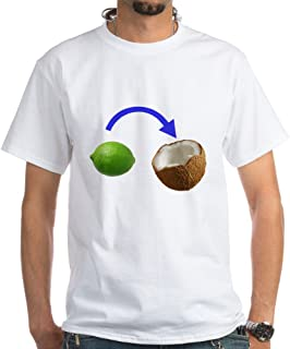 CafePress Put The Lime in The Coconut T-Shirt Cotton T-Shirt