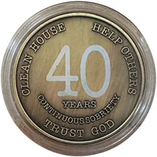 Best 1 year sobriety coin Reviews