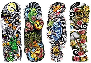 quarter sleeve tattoo for guys