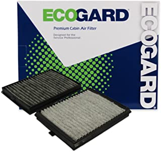 ECOGARD XC35509C Premium Cabin Air Filter with Activated Carbon Odor Eliminator Fits BMW 528i 1997-2000, 530i 2001-2003, 525i 2001-2003, 540i 1997-2003, M5 2000-2003