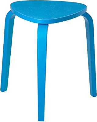 ikea standard stool v-shaped seat, blue