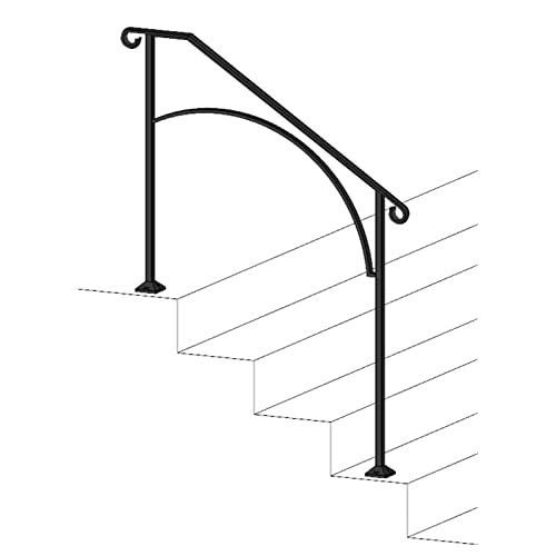 Outdoor Stair Railing: Amazon com