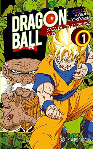 Dragon Ball Color Cell nº 01/06 (Manga Shonen)