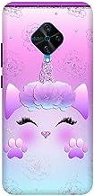 Kitty :: Cute :: Cartoon :: VIVO S1 PRO Multicolor Mobile Back Cover