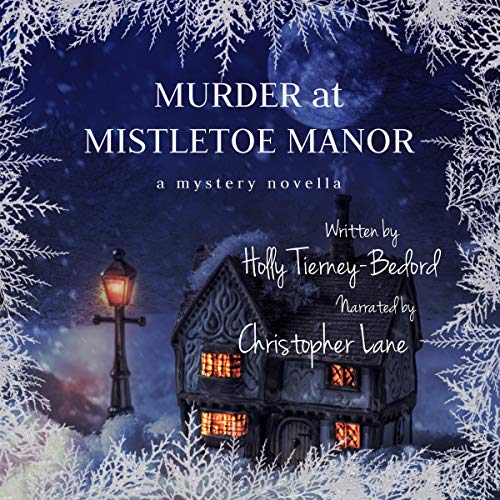 Murder at Mistletoe Manor cover art