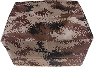 MagiDeal Waterproof & Vented Outboard Motor Boat Engine Protective Cover 2-300 HP 7 Sizes Desert Camo