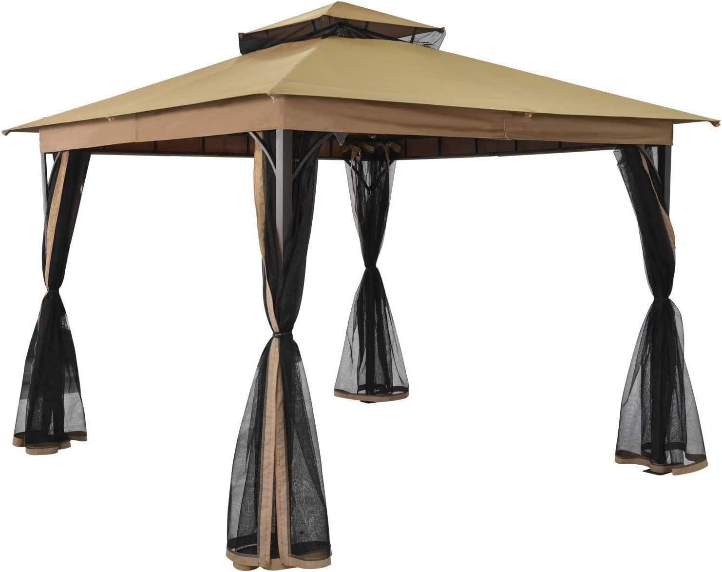 SUNA OUTDOOR 10 x ft 店内全品対象 Gazebo Outdoor Dut Heavy 爆買い新作 Shelter Canopy