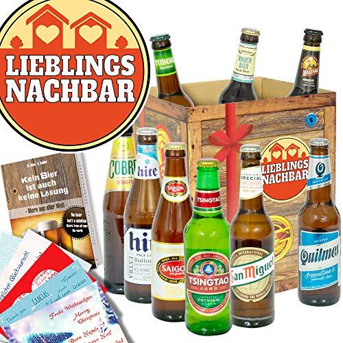 Lieblingsnachbar/Geschenk für Nachbarn/Bier der Welt