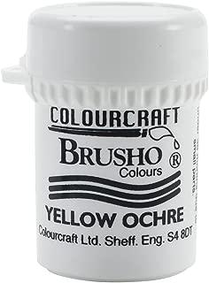 PanPastel BRB12-YO Brusho Crystal Colour 15g-Yellow Ochre
