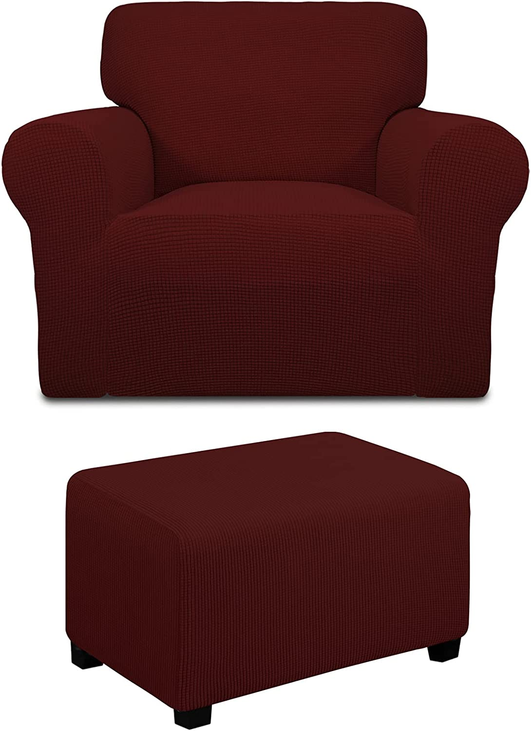Ranking integrated 1st place Easy-Going Ottoman S Chair Bundles Outlet ☆ Free Shipping slipcover