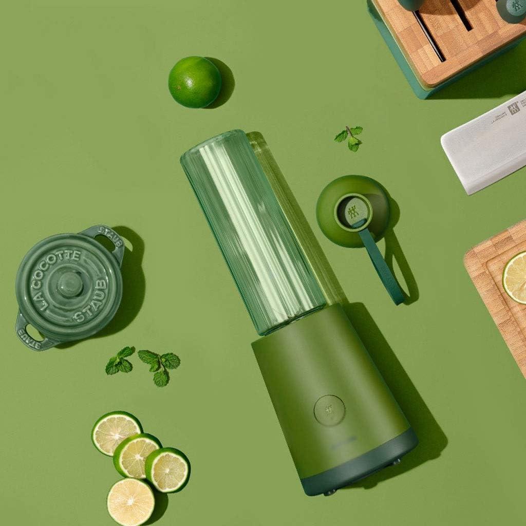 Zxb-shop Exprimidor Pequeño portátil Vegetal Batido de Frutas Hielo de Las Bebidas Pro Mixer Exprimidor exprimidor de Fruta (Color : C) B