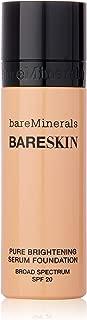 BareMinerals BareSkin Pure Brightening Serum Foundation SPF 20 - Bare Satin 06 for Women - 1 oz