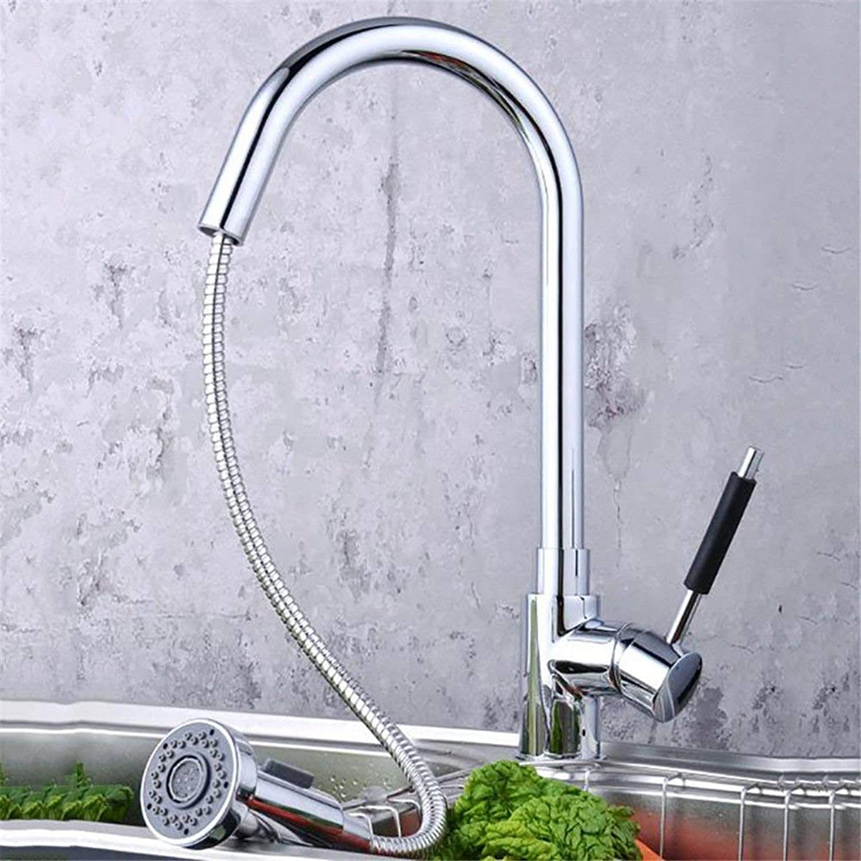 360 ° drehbaren Wasserhahn Retro Wasserhahn Küche Waschbecken Becken Waschbecken Mischbatterie Wasserhahn Gebürstet Spüle Wasserhahn