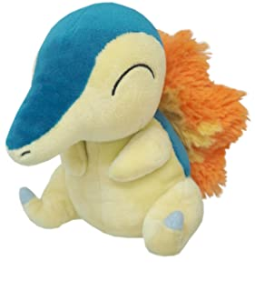 """Sanei Pokemon All Star Collection - PP41 - Cyndaquil Stuffed Plush, 6"""""""