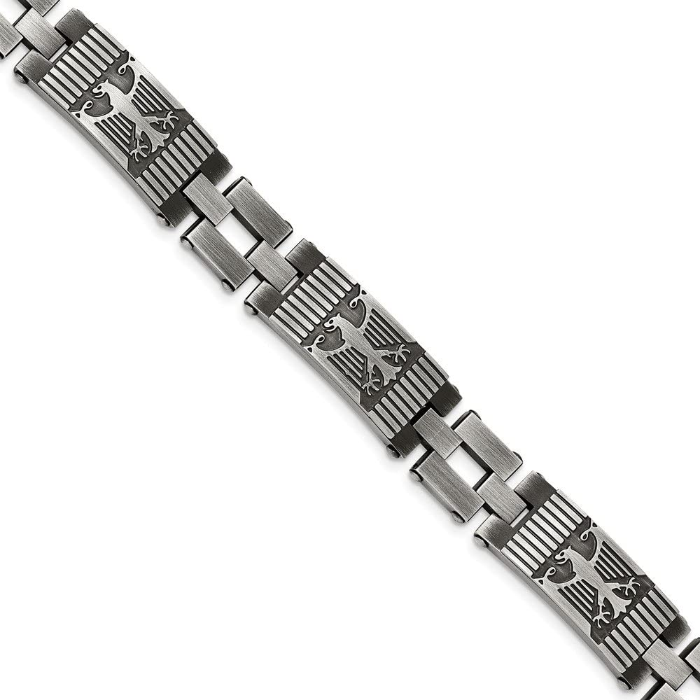 Dallas Max 71% OFF Mall FB Jewels Solid Stainless Steel Antiqued Polished Brushed Br And