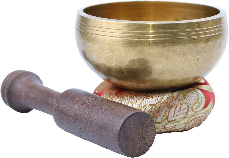 Tibetan Singing Bowls, Heart Chakra Singing Bowl Handcrafted in Nepal (Tibetan Singing Bowls)