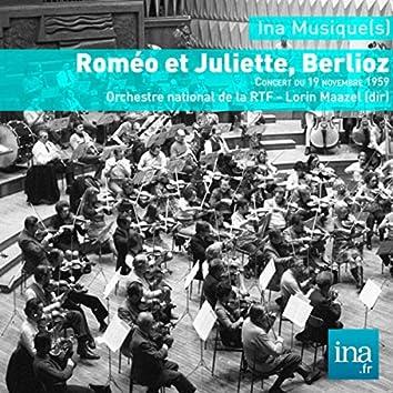 Roméo et Juliette, Berlioz - Orchestre national de la RTF