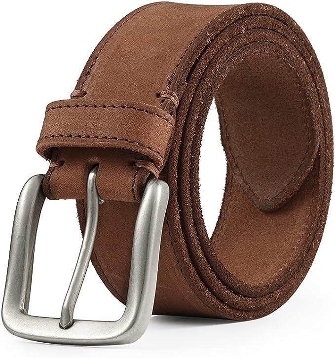 14 opinioni per TOPBELT Cintura Uomo Cinta Pelle Vera 100% Cinture 110-160cm Grande Taglia 3.8CM