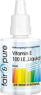 Vitamina E líquida pura - Aceite