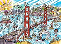 大人のジグソーパズル3000ピースのジグソーパズルファミリーゲームDIYゲームおもちゃ大人のギフト子供と思春期のパズル(風景)