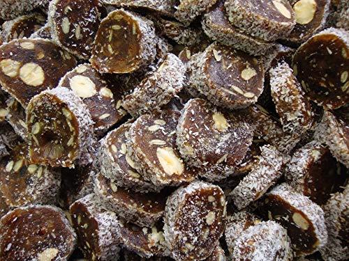Frutas y nueces sanas (dátiles, albaricoques, avellanas, almendras y cocos). Vegano. Sin gluten 1 Kg