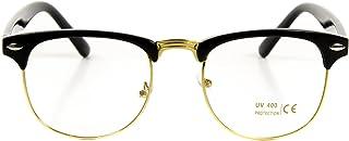 Goson Vintage Nerd Fashion Clear Eyeglasses, Clear Lens...