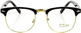 Vintage Nerd Fashion Clear Eyeglasses, Clear Lens Retro...