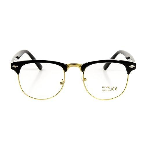 1b606364c7d1 Goson Vintage Nerd Fashion Clear Eyeglasses