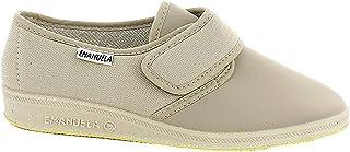 EMANUELA 655 Pantofola elasticcizzata da Donna Comoda con Velcro